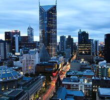 Melbourne, 6am by Wayne Grivell