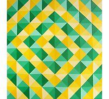 Cadmium Yellow Cadmium Green Photographic Print