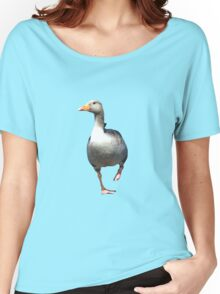 Goose on the Loose Women's Relaxed Fit T-Shirt