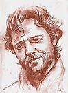 Russell Crowe by andrea v