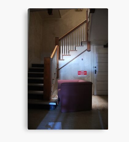 Abandoned Medical Staff Office Canvas Print