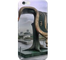 What's the time Mr Dali..? iPhone Case/Skin