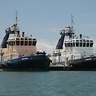 NEWCASTLE HARBOUR TUGS by Phil Woodman