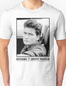 Charlie Sheen: Bangin' 7 Gram Rocks. T-Shirt