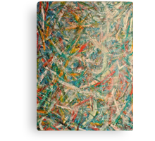 Abstract painting by Scott Johnson, 1995 Canvas Print