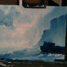Ocean scene by harleym