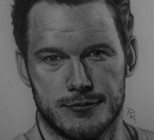 Chris Pratt by rosabelledraws