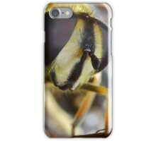 Hoverflies Head iPhone Case/Skin