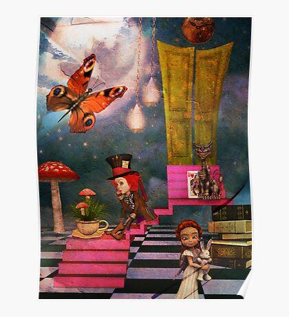 Wonderland Daze Poster