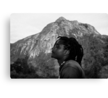 Soaking Up the Good Vibes Canvas Print