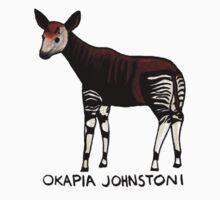 Okapi (Okapia johnstoni) Kids Tee