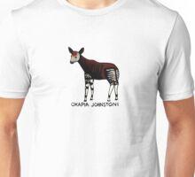Okapi (Okapia johnstoni) Unisex T-Shirt