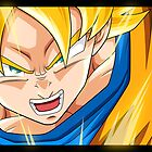 Dragonball Z - Super Saiyan by Tom Skender