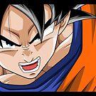 Dragonball Z - Son Goku by Tom Skender