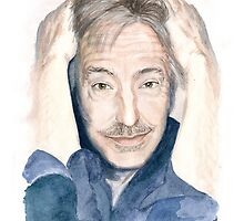 Alan Rickman - Fan Art by elenaschnaider