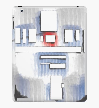 R2D2 abstract iPad Case/Skin