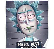 Rick mug shot Poster