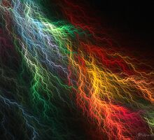 Lightning Storm by wolfepaw