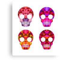 Skull Halloween Canvas Print