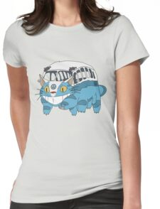 VW catbus Womens Fitted T-Shirt