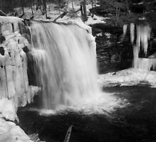 Of Gushing Water and Icy Stalactites by Murph2010