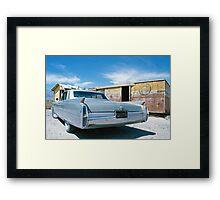 Lone Pine Cadillac Framed Print