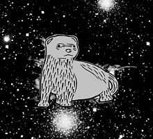 Space Ferret by xashleyrose