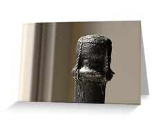 Profile in Foil Greeting Card
