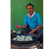 Sweet Maker, Udaipur Photographic Print