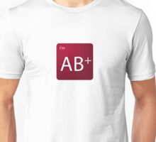 Blood Type - AB positive Unisex T-Shirt