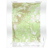 USGS Topo Map Oregon Partridge Creek 281048 1964 24000 Poster