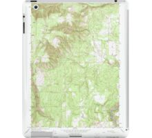 USGS Topo Map Oregon Partridge Creek 281048 1964 24000 iPad Case/Skin