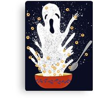Haunted Breakfast Canvas Print