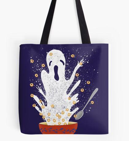 Haunted Breakfast Tote Bag