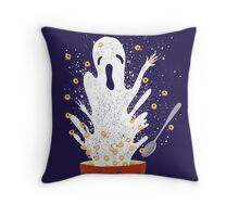 Haunted Breakfast Throw Pillow