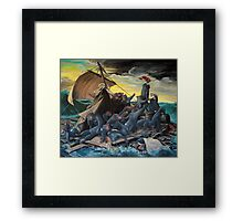 Raft of the Marsupial Framed Print