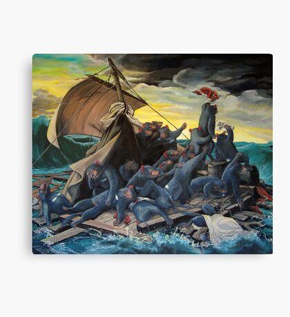 Raft of the Marsupial Canvas Print
