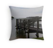 Urunga Boardwalk Throw Pillow
