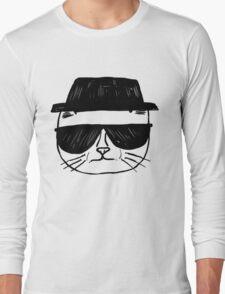 Heisenberg Cat Long Sleeve T-Shirt