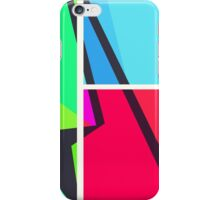 Retro Colorbox Geometric Pattern iPhone Case/Skin