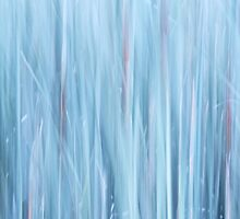 Cattails impressionism by Laurie Minor