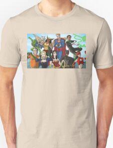 Community Study group Justice league T-Shirt