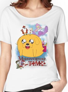 Misadventure Time  Women's Relaxed Fit T-Shirt