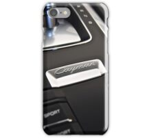 Center Console iPhone Case/Skin