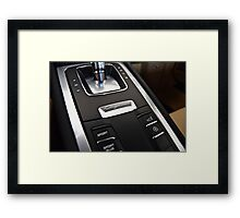 Center Console Framed Print