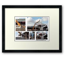 Demolition Framed Print