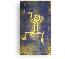 Dance Yourself Silly Canvas Print