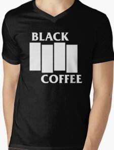 Black Flag Coffee  Mens V-Neck T-Shirt