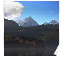 View of the Austrian Alps Poster
