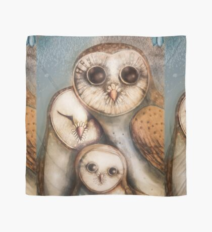 three wise owls Scarf